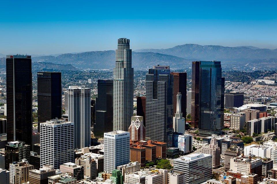 Los Angeles, California, Skyline, Downtown